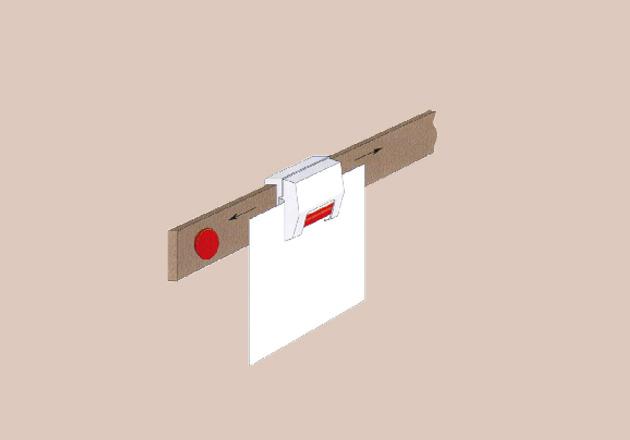 Magnetleiste mit Klemm Haken
