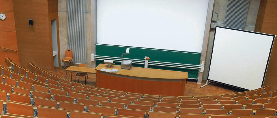 Hörsaal-Ausstattung Tafeln Wittler
