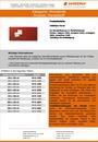 Produktdatenblatt Pinnwände Flanellstoff